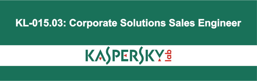 KL-015.03: Corporate Solutions Sales Engineer